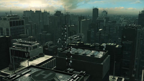 Big City The Matrix Animation