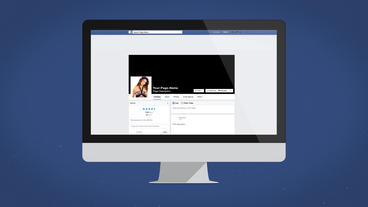 Facebook Desktop Intro - Apple Motion and Final Cut Pro X Template Apple Motion Template