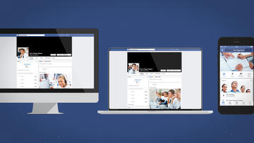 Facebook Multi Devices Presentation - Apple Motion and Final Cut Pro X Template Apple Motion 模板