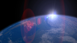 Earth from space Footage
