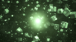 Abstract motion green background Animation
