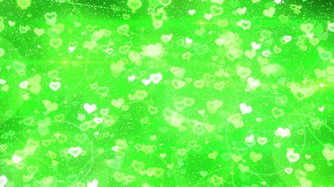 Rebound particle heart gr CG動画