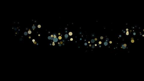 Particular-GOLD-BLUE CG動画素材