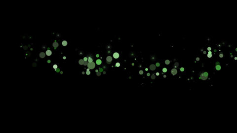 Particular-GREEN CG動画素材