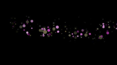 Particular-PINK-GOLD CG動画素材