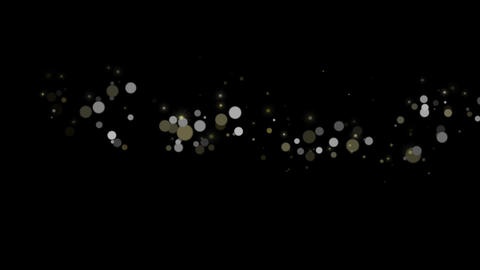 Particular-SILVER-GOLD CG動画素材