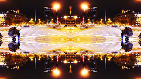 Abstract mirror lights and shapes ライブ動画