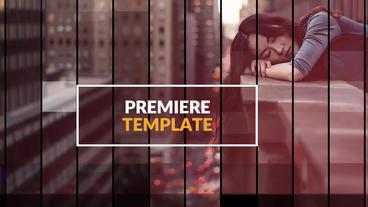 Inspire Lines - Premiere Slideshow Premiere Proテンプレート