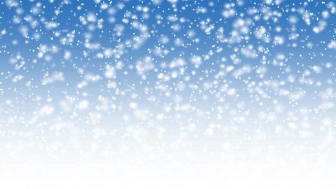 Falling snow animation Animation