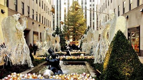 Rockefeller Center, New York City Live Action