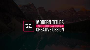 16 Logo Titles Premiere Proテンプレート