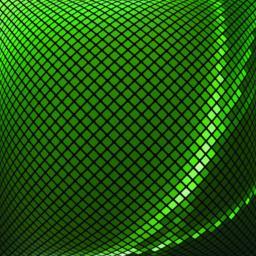 Green mosaic_2 Vector