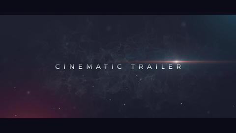 Cinematic Trailer After Effects Template