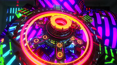 VJ Cosmic Multicolor Abstract4 Animation
