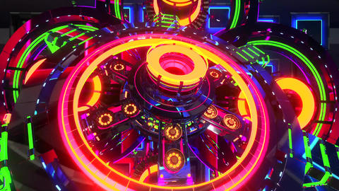 VJ Cosmic Multicolor Abstract6 Animation