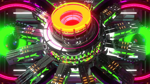 VJ Cosmic Multicolor Abstract8 Animation