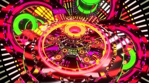 Kaleidoscope Rainbow Motion Background8 Animation