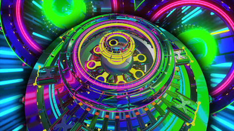 Kaleidoscope Rainbow Motion Background9 Animation