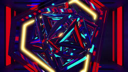 Retro VJ abstract multicolored animated5 Animation