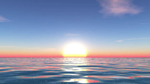 Sea Scene Animation