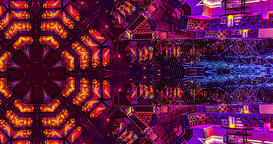 VJ Loops 3 - PepN Stock Footage - 4K Hypnotic kaleidoscope stage visual loop for Animation
