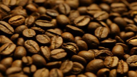 Roasted coffee beans Footage