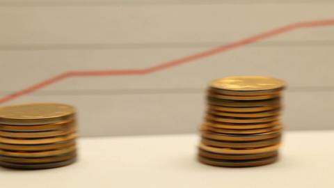 Financial success concept Footage