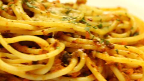 Spaghetti bolognese Footage