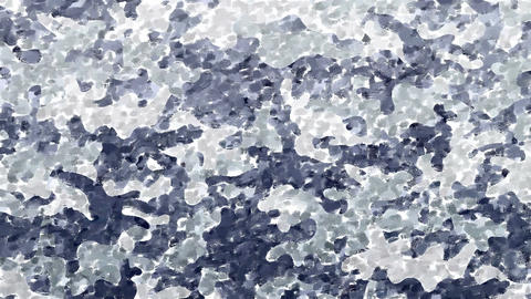 Hand painted gray camouflage background Animation