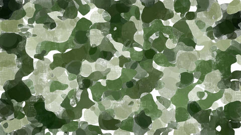 Animated green camouflage background Animation