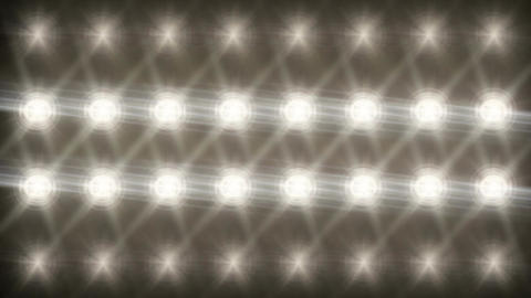 Stadium Spot Flashing Light - Pulse 04 Animation