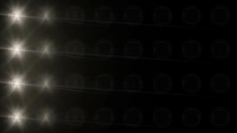 Stadium Spot Flashing Light - Pulse 10 Stock Video Footage
