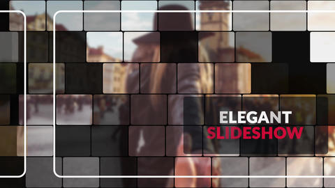 Beauty Mosaic - Elegant Slideshow After Effects Template