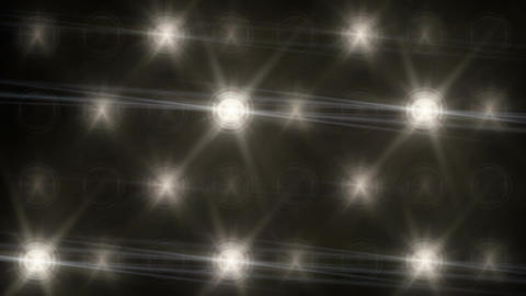 Stadium Spot Flashing Light - Strobe 04 Animation
