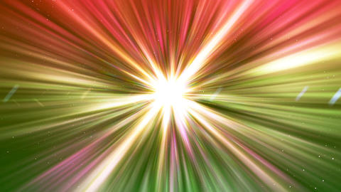 HD Loopable Background with nice colorful rays CG動画素材