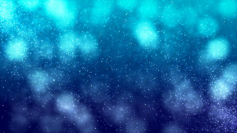 HD Loopable Background with nice blue bokeh CG動画素材