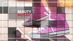 Elegant Mosaic - Premiere Slideshow Premiere Proテンプレート