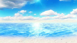 Perfect seascape. Great for tourism and nature concept. Check out my other CG動画素材