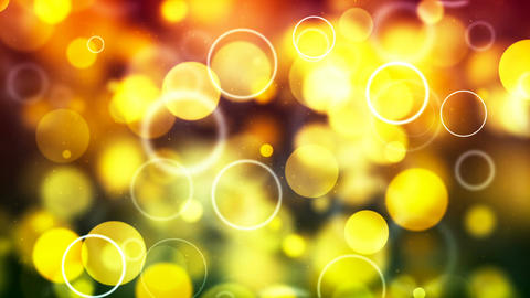 HD Loopable Background with nice yellow bubbles CG動画素材