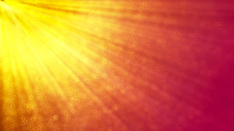 HD Loopable Background with nice sun rays Animation
