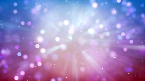 HD Loopable Background with nice bokeh abstract Animation