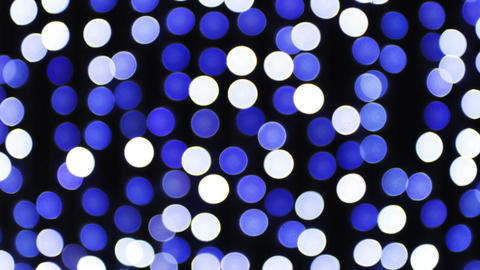 Blue and white disco lights Footage