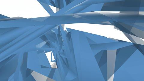 Blue shape layers Footage