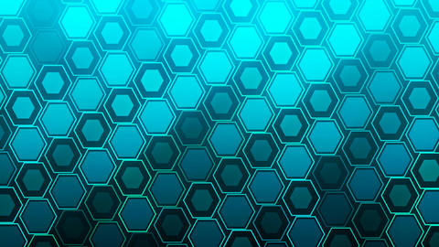 HD Loopable Background with nice blue abstract Animation
