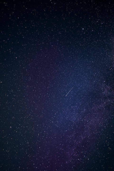 Galaxy stars night sky Photo