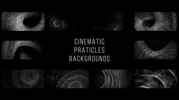 Cinematic Particles Backgrounds After Effects Template