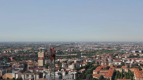 Crane at work Filmmaterial