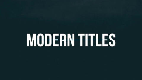 Motion Smooth Titles Premiere Pro Template