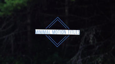 Simple Minimal Titles Premiere Proテンプレート
