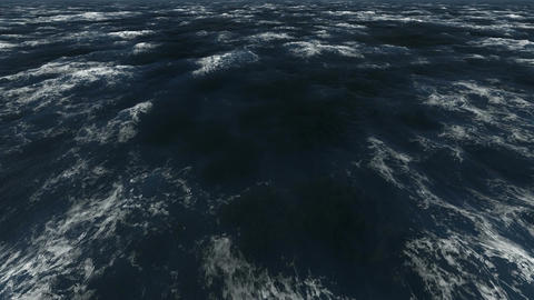 Real Sea 4K Loop CG動画素材